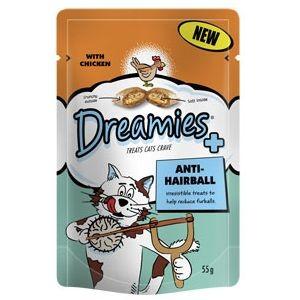 Dreamies Chicken Hairball Treats 55g