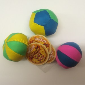 Classic for Cats Beach Ball Catnip Toy