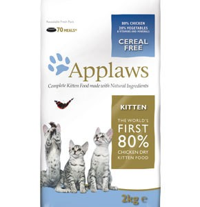 Applaws Dry Kitten Food Chicken 400g