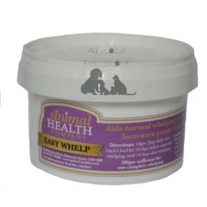 Animal Health Easy Whelp Feed supplement to aid normal rapid whelping Less disease viable pups