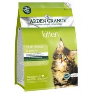 Arden Grange Kitten Chicken and Potato 400g