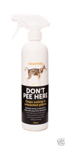 500ml Don't Pee Here Spray Discourages Dog Cat Soiling | Urinating in Unwanted Places