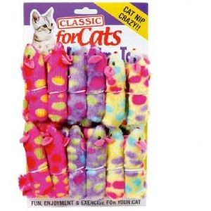Classic for Cats Plush Ferret