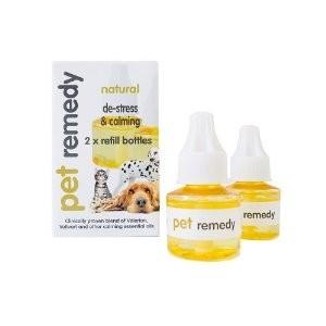 Pet Remedy Natural De-Stress & Calming Refill Pack 2 X 40ml