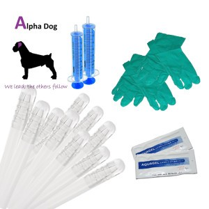 10 x Premium Inseminating Kit for Dogs – 8 inches