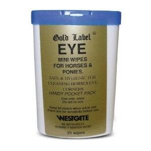 Gold Label Canine Eye Wipes (25 Wipes)