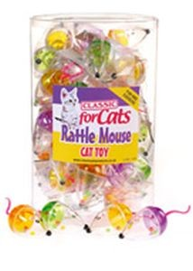 Classic for Cats Rattle Mouse