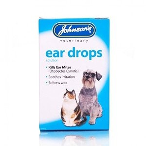 Johnsons Veterinary Ear Drops 15ml