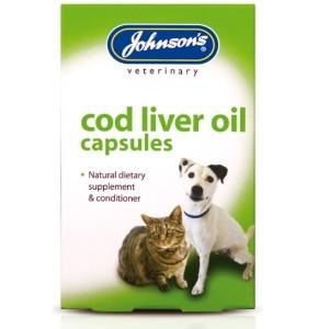 Johnson's Cod Liver Oil Capsules x40 Capsules