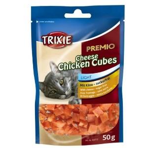 Trixie PREMIO Cheese Chicken Cubes – 50 g