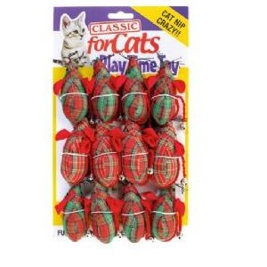 Classic for Cats Tartan Mouse