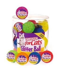 Classic for Cats Glitter Balls
