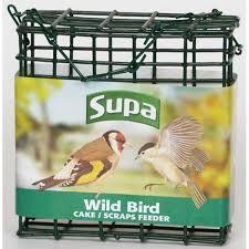 Supa Wild Bird Suet / Scraps Feeder