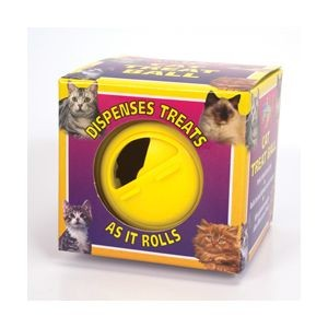 Lazy Bones Cat Treat Ball