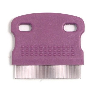 Rosewood Soft Protection Salon Grooming Mini Flea Comb