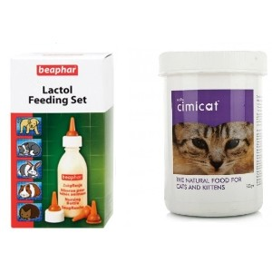 Cimicat 250g & Lactol Feeding Set