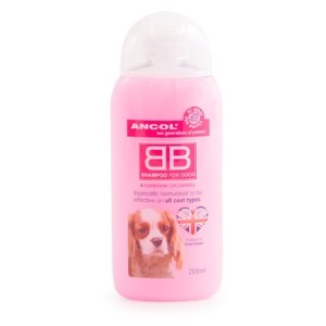 Ancol Baby powder fragranced shampoo 200ml