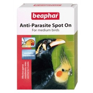 Beaphar Anti-Parasite Spot On – Medium (Parakeet / Mynah)