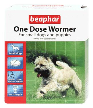 Beaphar One Dose Wormer – Small Dog