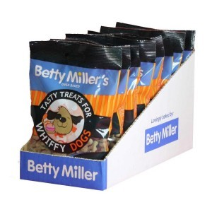 Betty Miller Tasty Treats for Whiffy Dogs 100g