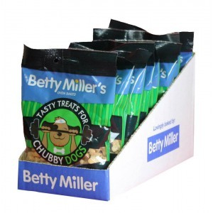 Betty Miller Tasty Treats for Chubby Dogs 100g