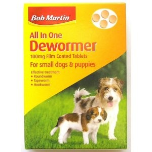Bob Martin All In One Dewormer – Small Dogs and Puppies