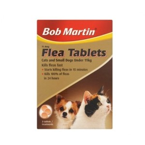Bob Martin Flea Tablets for Cats and Small Dogs <11kg