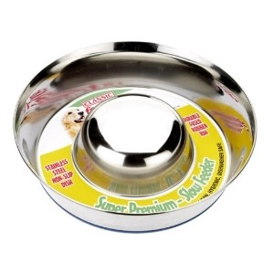Classic Super Premium Non-Slip Slow Feeder Small 880ml (195mm)