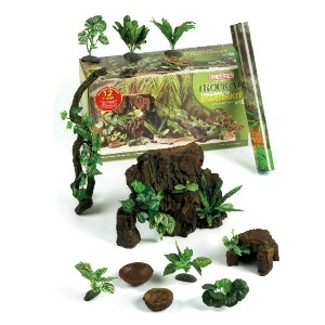 Classic Terrarium Tropical 12 Piece Starter Kit