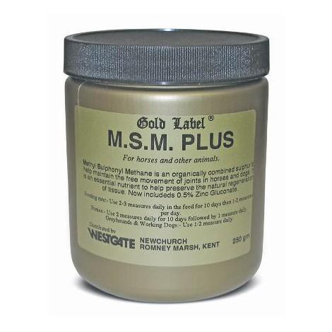 Gold Label M.S.M. Plus 250g