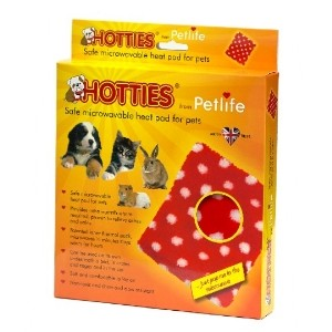 Petlife Hottie Red & White Polka Dot. Microwaves in minutes, stays warm for hours