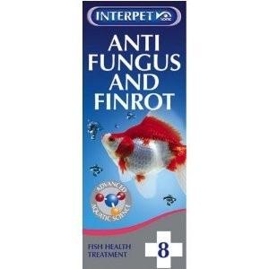 Interpet No. 8 Anti Fungus & Finrot 100ml
