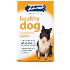 Johnson's Healthy Dog Tablets 40 Tablets