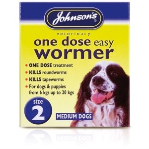Johnson's One Dose Easy Wormer Size 2