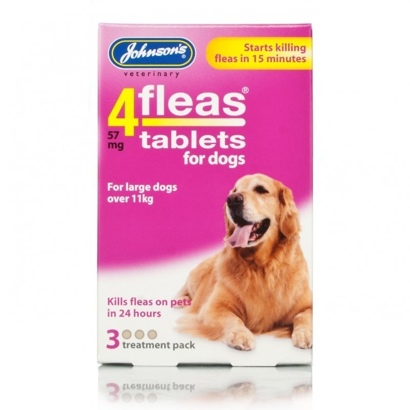 4fleas Tablets for Dogs over 11kg