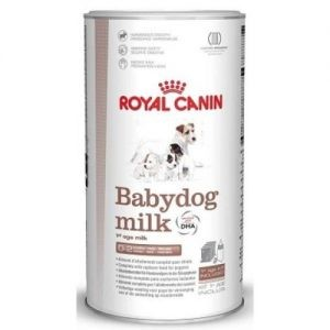 Royal Canin Babydog Milk – Complete Milk Replacer. 400g with bottle and measure Scoop