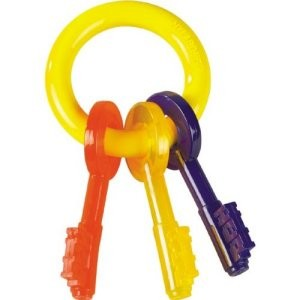 Nylabone Puppy Teething Keys Large up to 25lbs/11kg