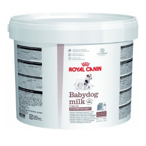 Royal Canin Babydog Milk – Complete Milk Replacer. 2kg with bottle and measure Scoop