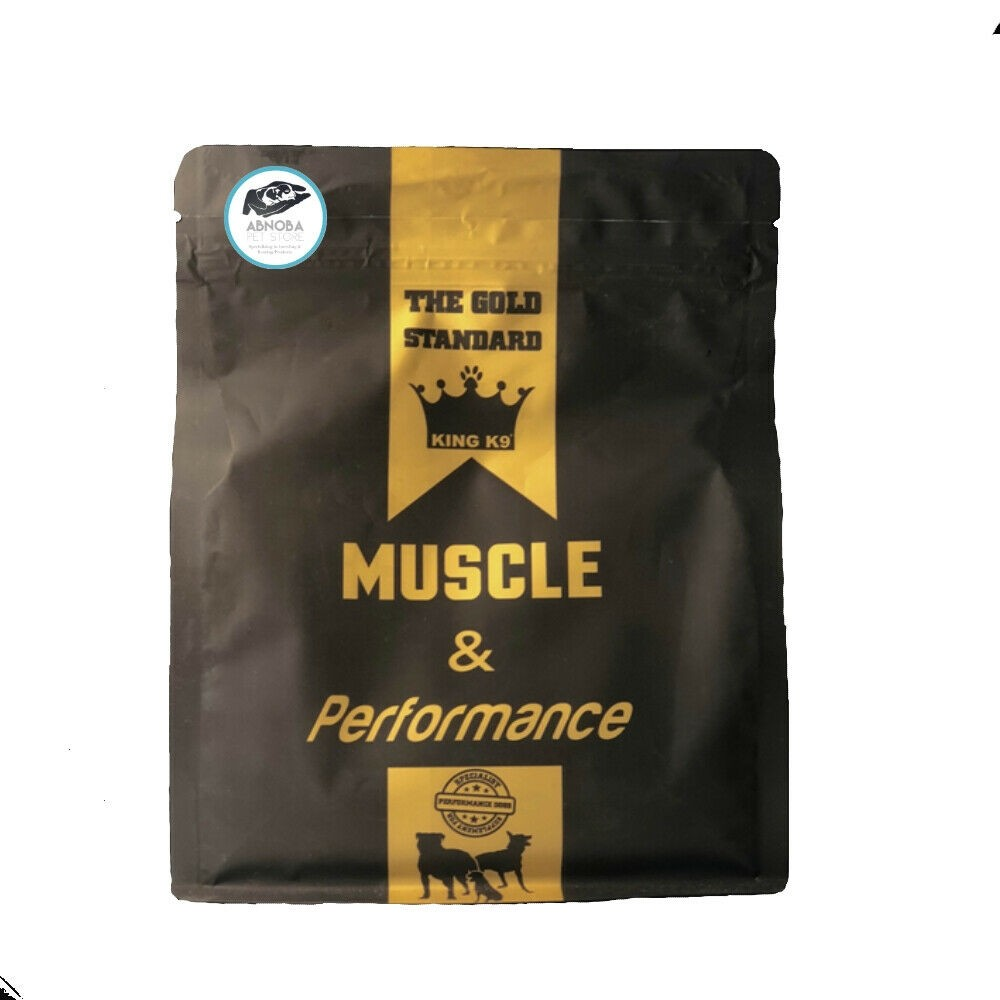 King K9 Dog Muscle & Performance essential vits Supports bone & muscle formation