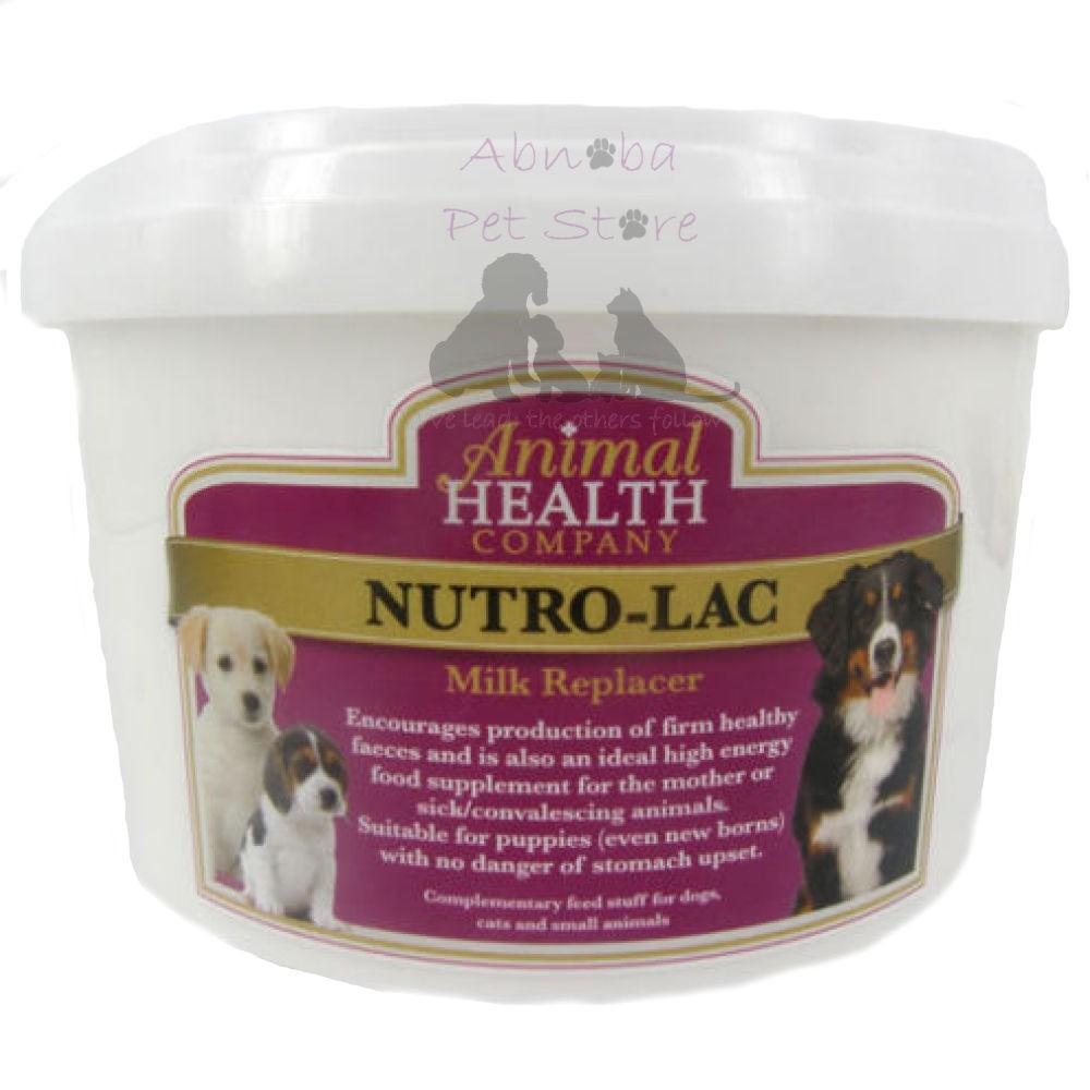 500g Animal Health NutroLac Milk high in energy & nutrients easy on stomach