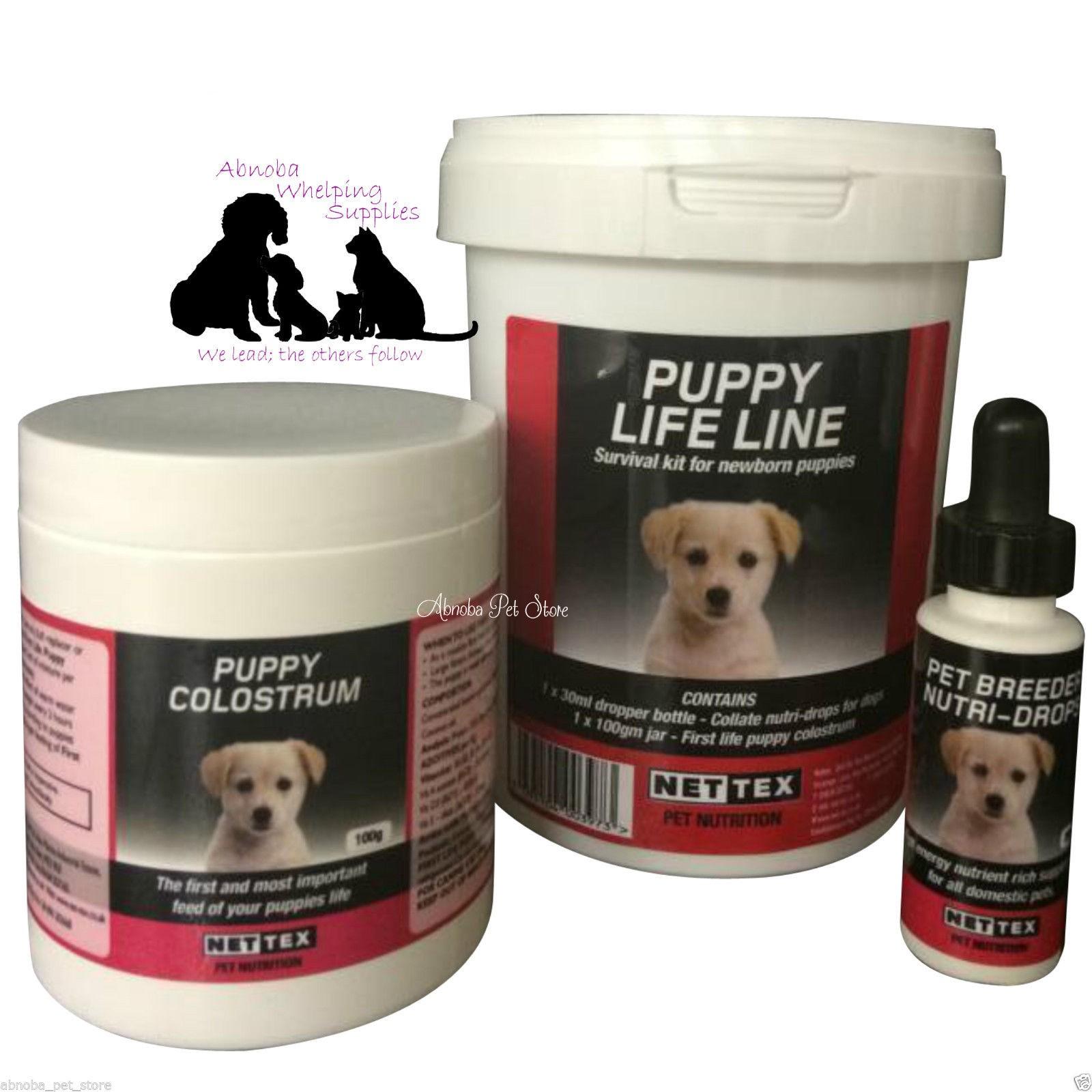 Nettex Life-Line puppy Net-tex survival kits for newborns,