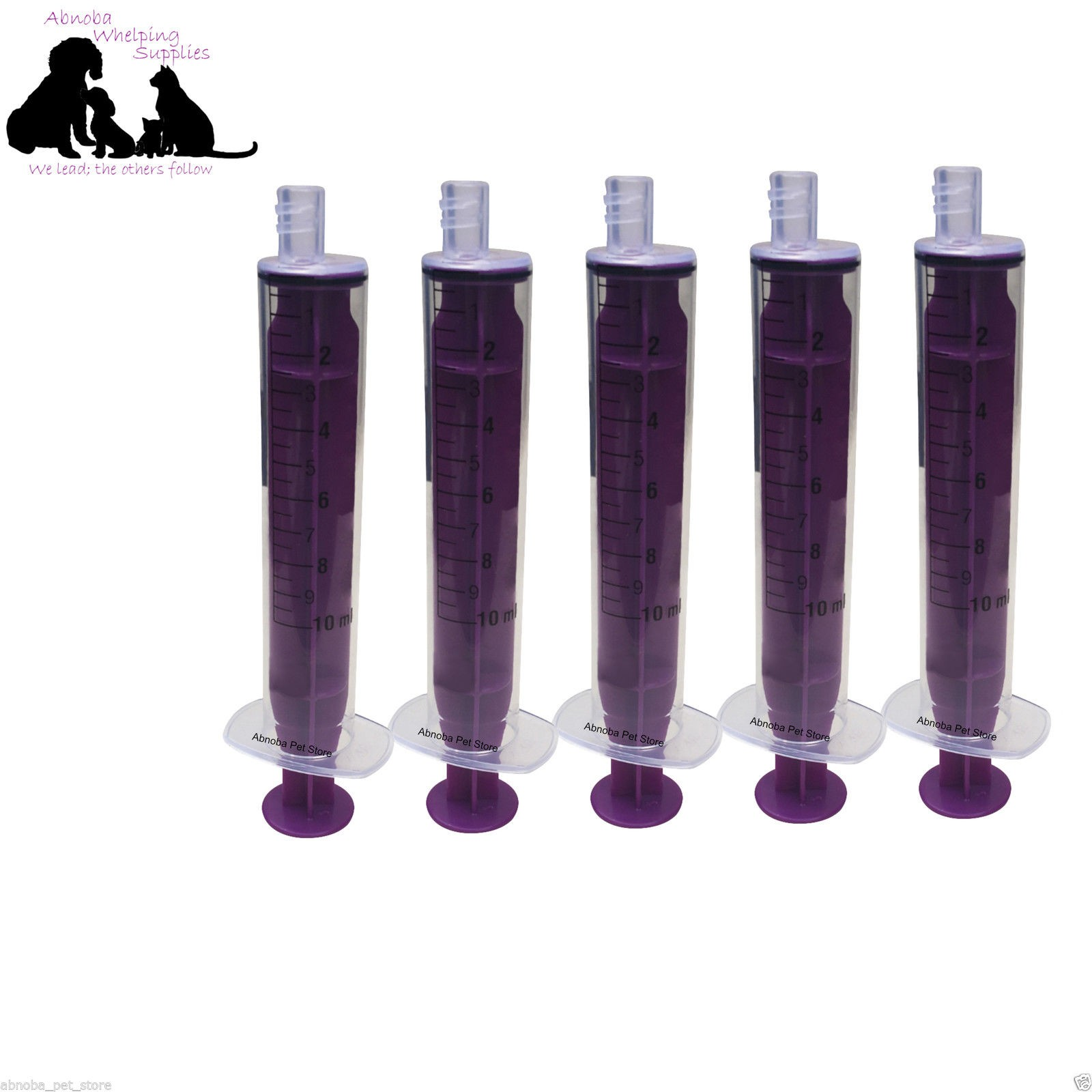 5 x.10ml Replacement Syringes