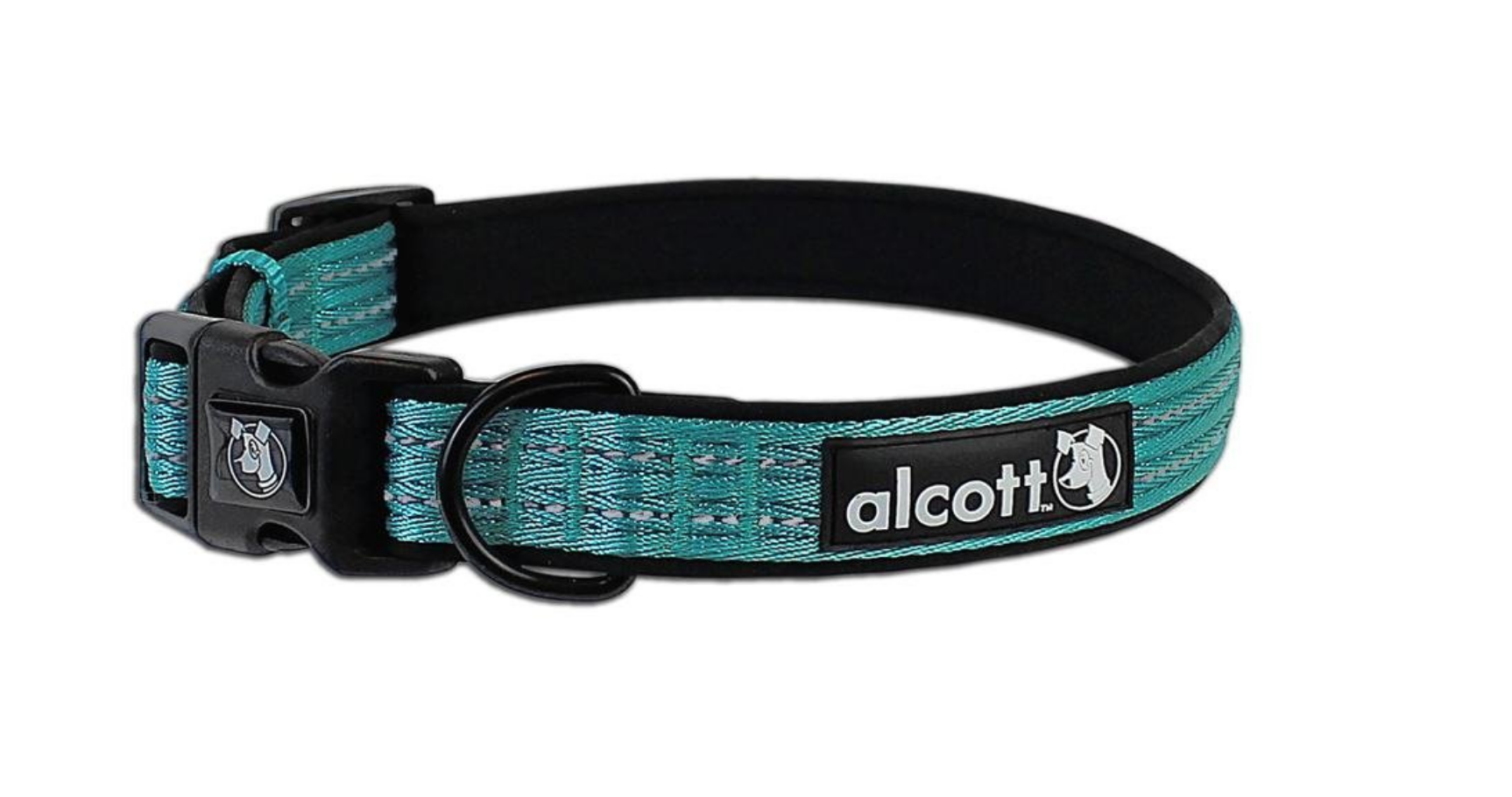 (Medium, Blue) Alcott Essential Adventure Collar - To Match our Alcott Retractable Leashes