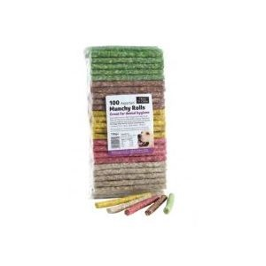 Treat 'N' Chew Munchy Roll – Assorted 100 Piece Pack