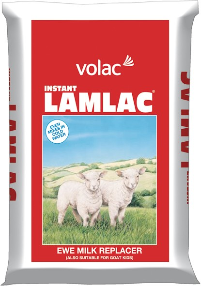 5kg VOLAC LAMLAC - Popular Milk used by puppy breeders. Concentrated milk protein which is highly digestible for faster growth.