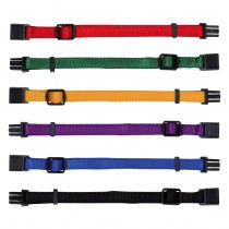 Set of 6 Puppy Collars M/L (BRIGHTS)