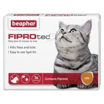 Beaphar FIPROtec® Spot On Solution for Cats
