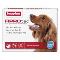 Beaphar FIPROtec® Spot on Solution for Medium Dogs