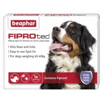 Beaphar FIPROtec® Spot on Solution for Extra Large Dogs