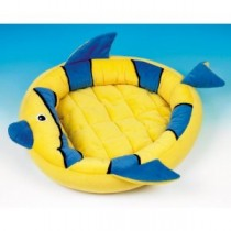 Classic Fish Cat Bed 20″